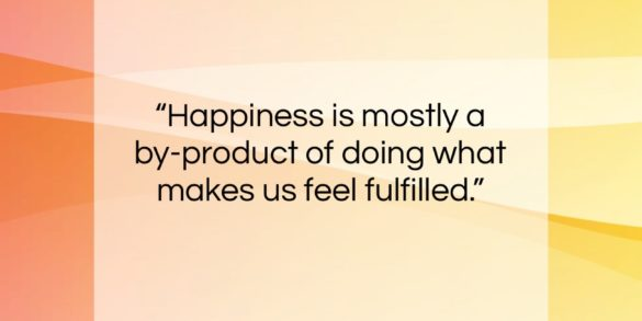 "Benjamin Spock quote: ""Happiness is mostly a by-product of doing…""- at QuotesQuotesQuotes.com"