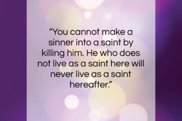 "Charles Spurgeon quote: ""You cannot make a sinner into a…""- at QuotesQuotesQuotes.com"