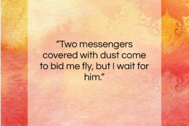 """Dolley Madison quote: """"Two messengers covered with dust come to…""""- at QuotesQuotesQuotes.com"""