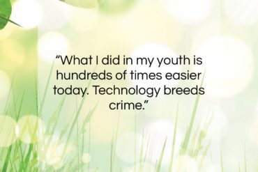 "Frank Abagnale quote: ""What I did in my youth is…""- at QuotesQuotesQuotes.com"