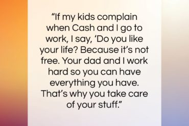 "Jessica Alba quote: ""If my kids complain when Cash and…""- at QuotesQuotesQuotes.com"