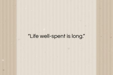 "Leonardo da Vinci quote: ""Life well-spent is long.""- at QuotesQuotesQuotes.com"
