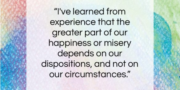 """Martha Washington quote: """"I've learned from experience that the greater…""""- at QuotesQuotesQuotes.com"""