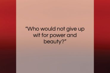"""Mason Cooley quote: """"Who would not give up wit for…""""- at QuotesQuotesQuotes.com"""