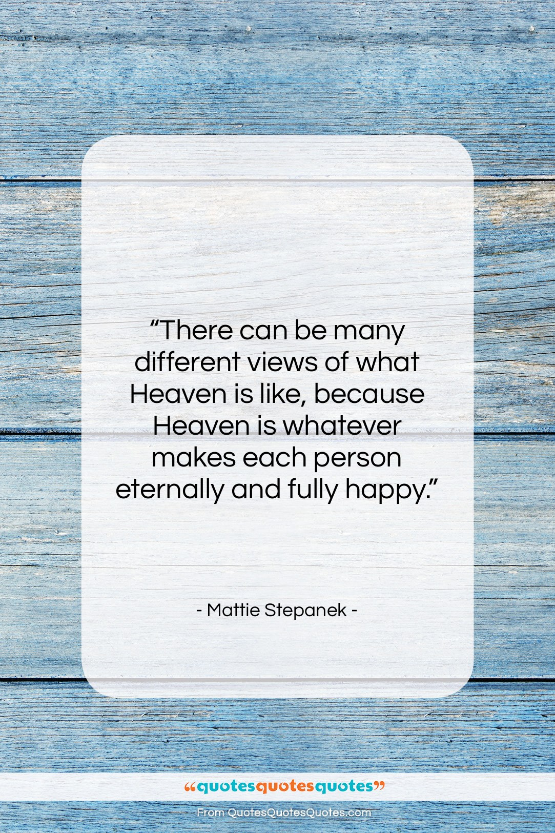 """Mattie Stepanek quote: """"There can be many different views of…""""- at QuotesQuotesQuotes.com"""