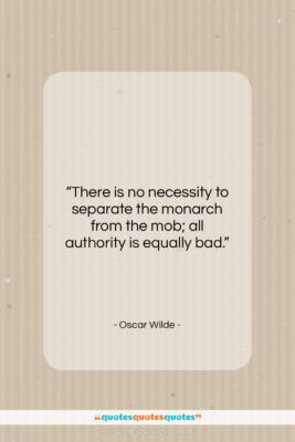 """Oscar Wilde quote: """"There is no necessity to separate the…""""- at QuotesQuotesQuotes.com"""