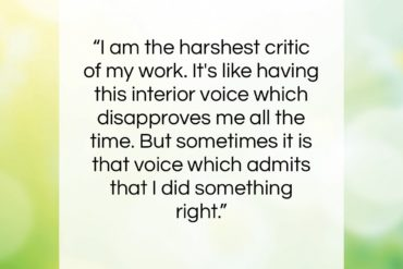 "Robin Williams quote: ""I am the harshest critic of my…""- at QuotesQuotesQuotes.com"