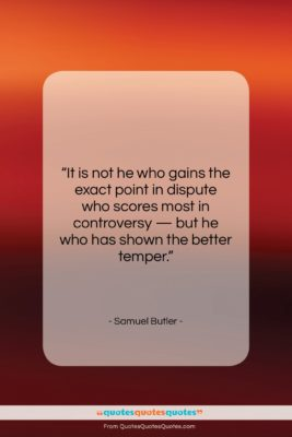 """Samuel Butler quote: """"It is not he who gains the…""""- at QuotesQuotesQuotes.com"""