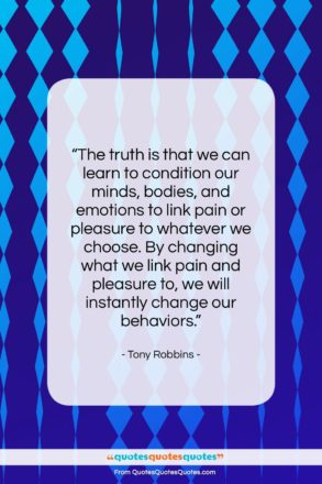 """Tony Robbins quote: """"The truth is that we can learn…""""- at QuotesQuotesQuotes.com"""