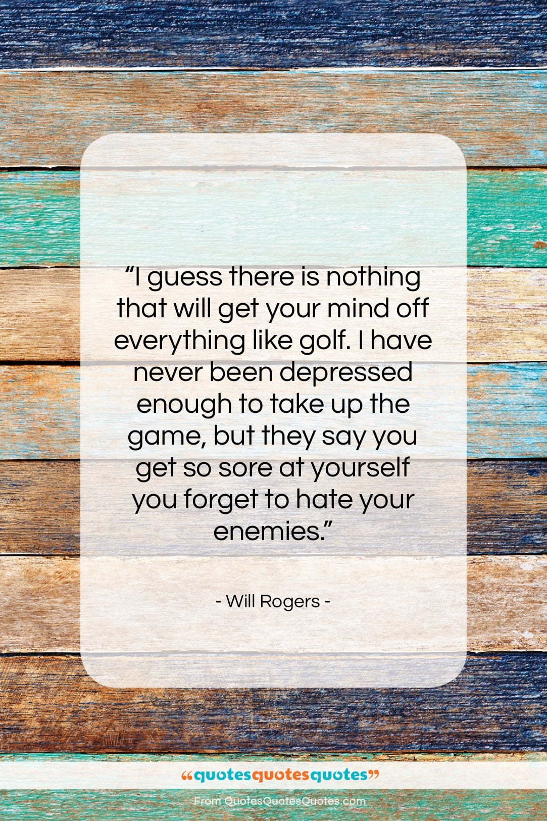 """Will Rogers quote: """"I guess there is nothing that will…""""- at QuotesQuotesQuotes.com"""