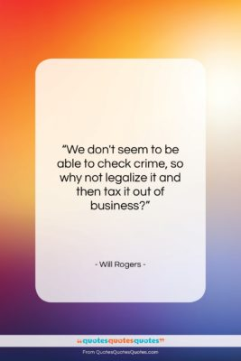 """Will Rogers quote: """"We don't seem to be able to…""""- at QuotesQuotesQuotes.com"""