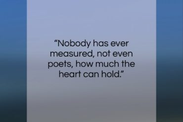 "Zelda Fitzgerald quote: ""Nobody has ever measured, not even poets,…""- at QuotesQuotesQuotes.com"